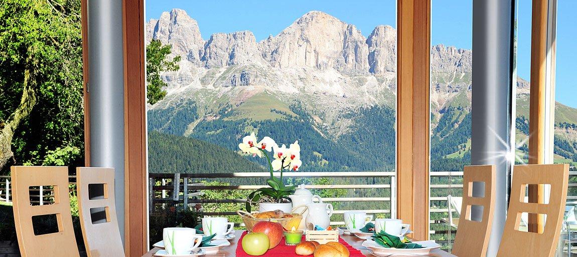 Vacanza con il sento della montagna sul Geigerhof
