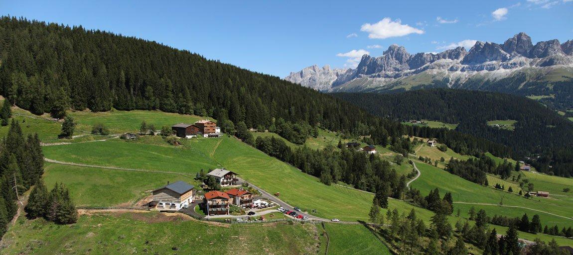 Urlaub auf der Alm - Der Geigerhof in Welschnofen / Südtirol