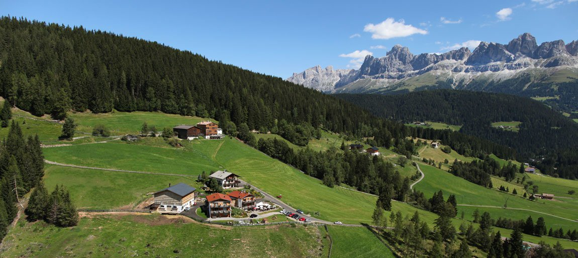 Vacanze in malga – Il Residence Geigerhof a Nova Levante / Alto Adige