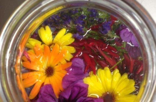 Blüten Essig