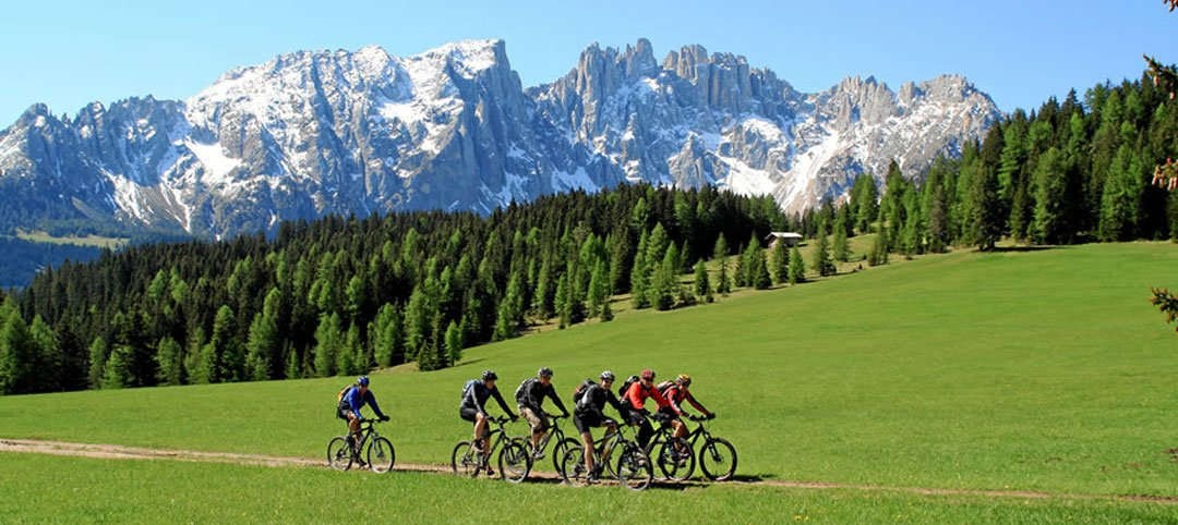 Mountain bike, hiking & more – In the holiday region Catinaccio/Latemar sports are paramount