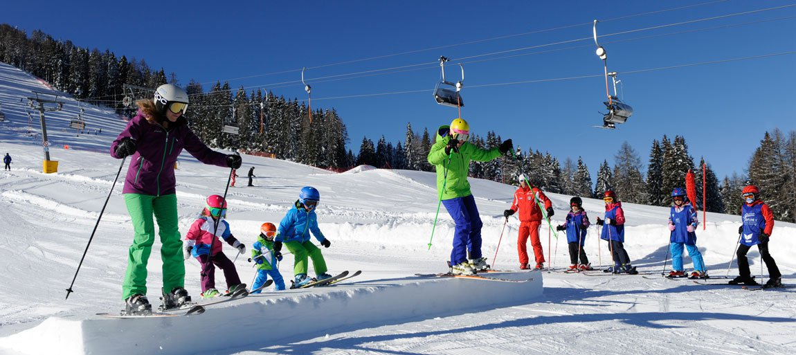 Experience winter sports, soak up the sun and enjoy a wonderful mountain scenery