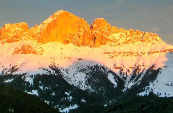 Rosengarten / Winter / Dolomiten